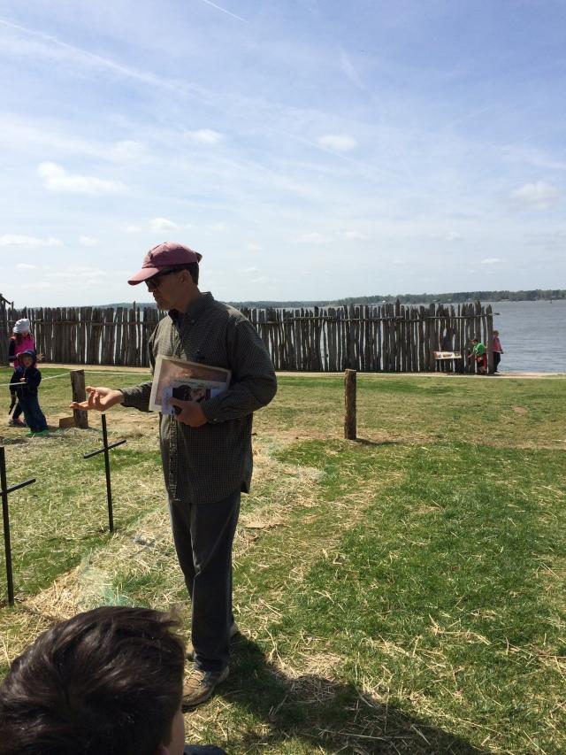 Jamestown archeologist