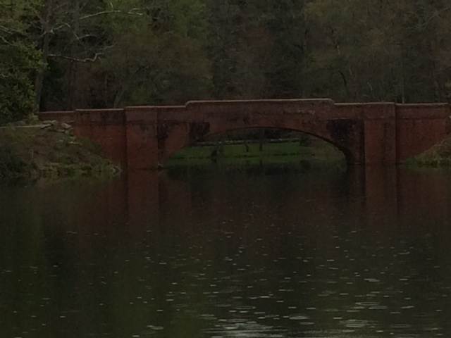 Bridge over Bass Pond (used in Last of the Mohicans)
