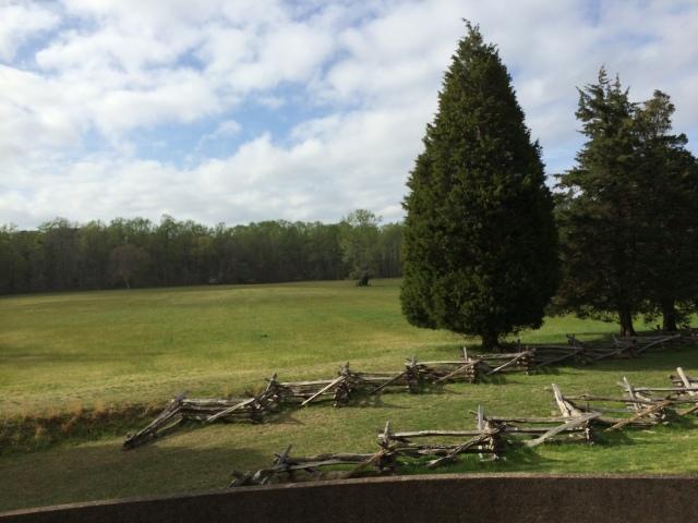 Yorktown surrender field