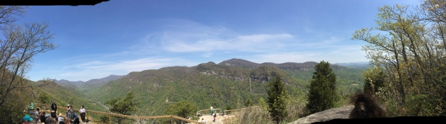 Pano from top of Skyline Trail (Exclamation Point)