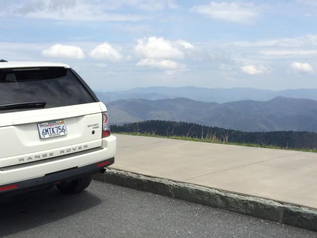 Old Home on the Smokey Mountain Range Rover