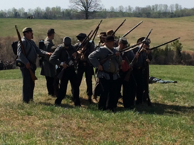 Confederate Infantry