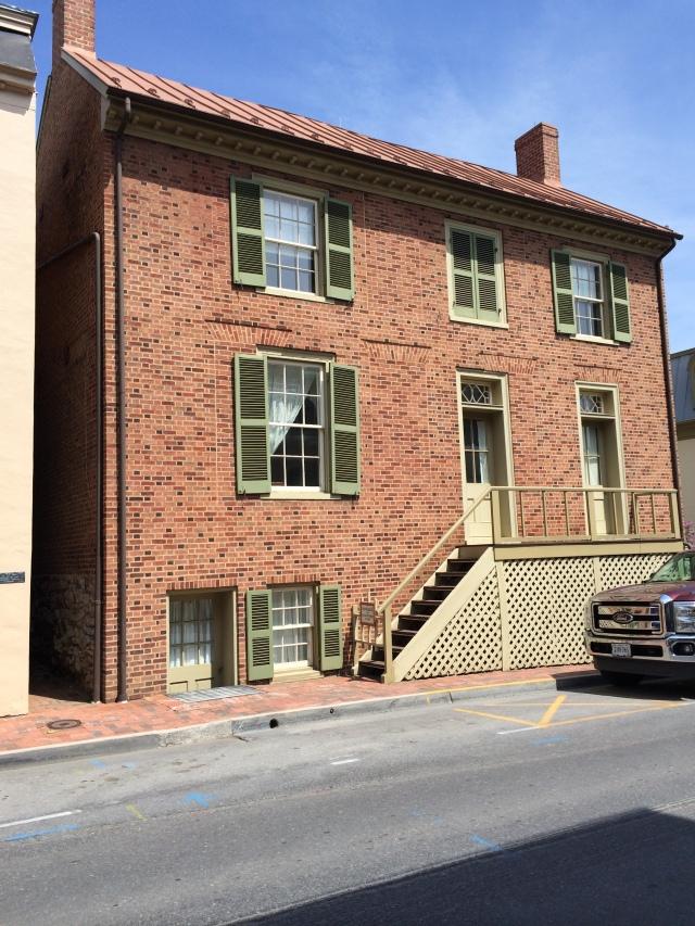 """""""Stonewall"""" Jackson's house"""