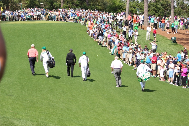 Nicklaus, Player, Palmer 1st Hole at the Par 3 Contest