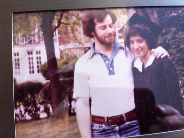 Robin's graduation 1979
