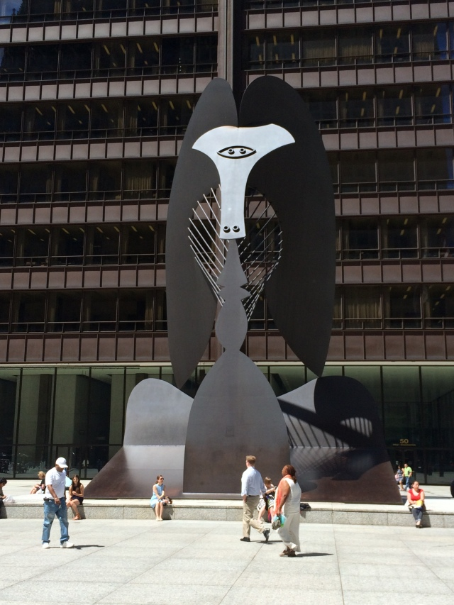 Daley Plaza with Picasso sculpture