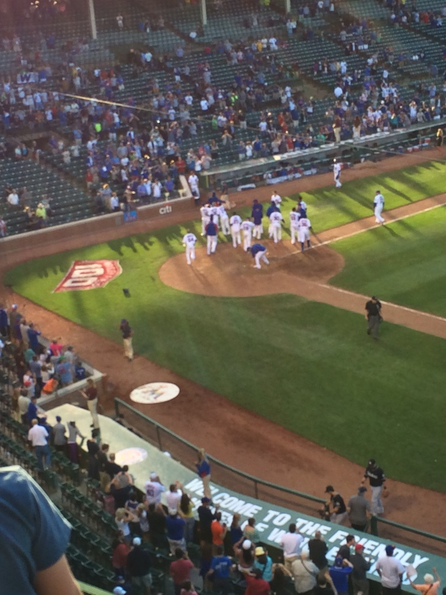 Nothing quite like a walk-off