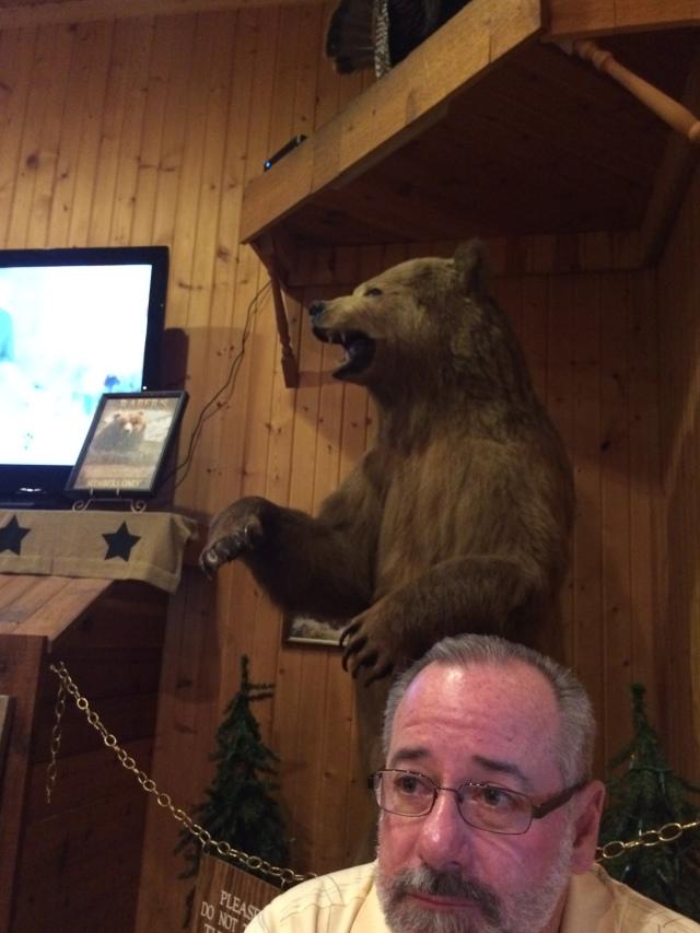 Bob and a bear