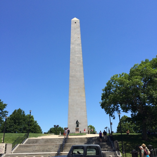 Bunker Hill Monument on Breed's Hill