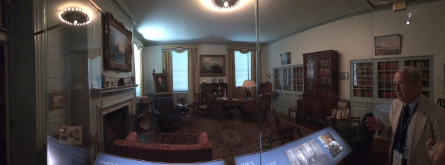 FDR's home office