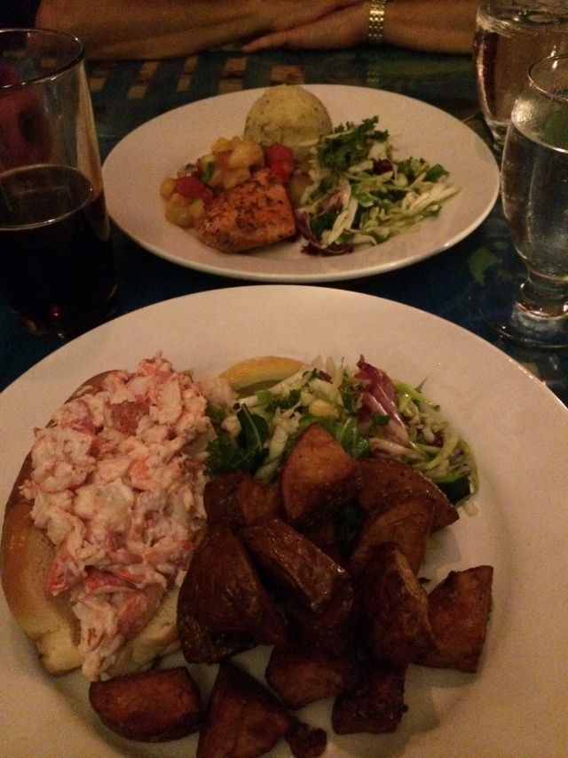 Lobster (roll) dinner #2