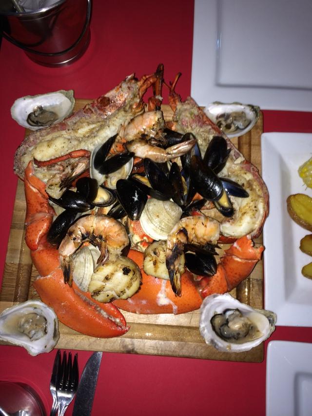 Not exactly Kosher.  Lobster dinner #4