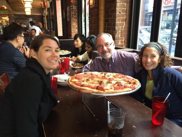 That's a big Pizza