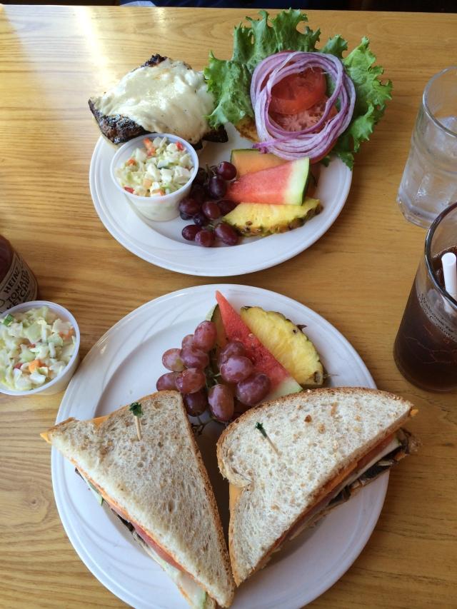 Vegetarian Hummus & Blackened Whitefish Sandwiches