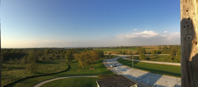 Panaromic view outside of Omaha