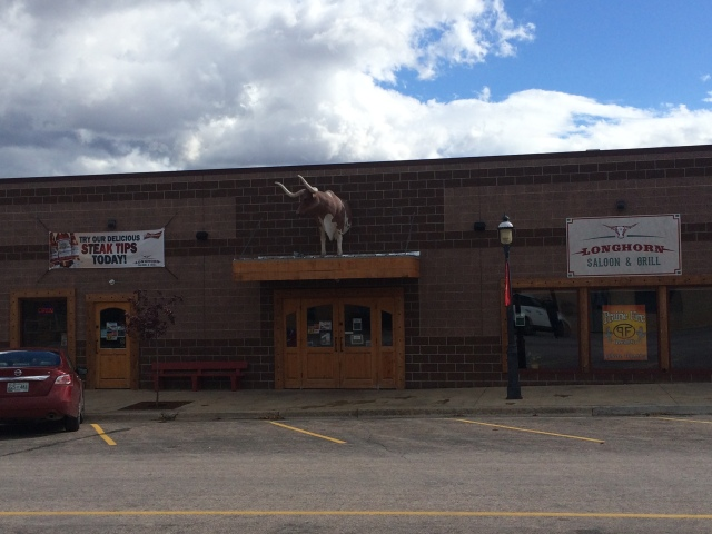 Longhorn Saloon & Grill in Sundance, WY