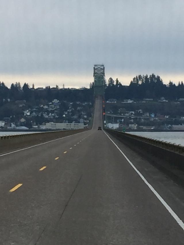 Bridge across the Columbia to Astoria