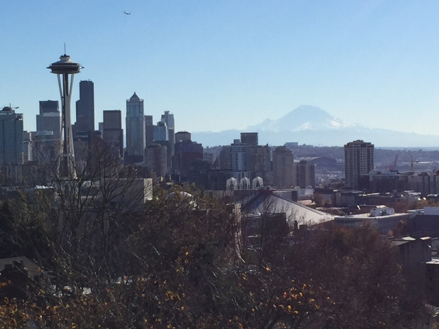 View from Kerry Park (on our bus tour)