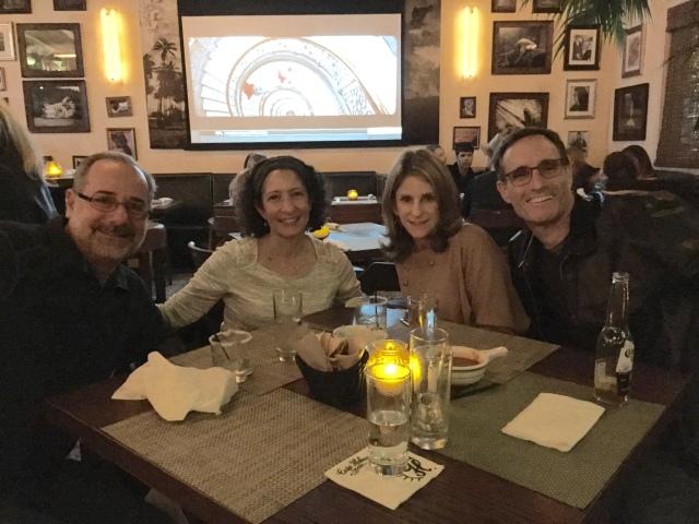 Dinner at Cafe Havana with Jill & Harris