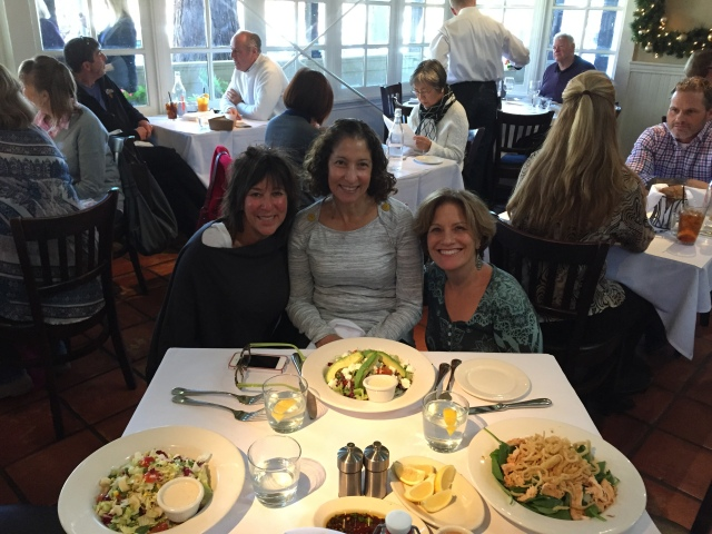 Lunch  with Bonnie and Denise at Piatti's