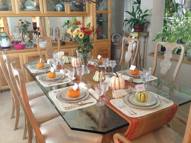 Ryan's festive table!