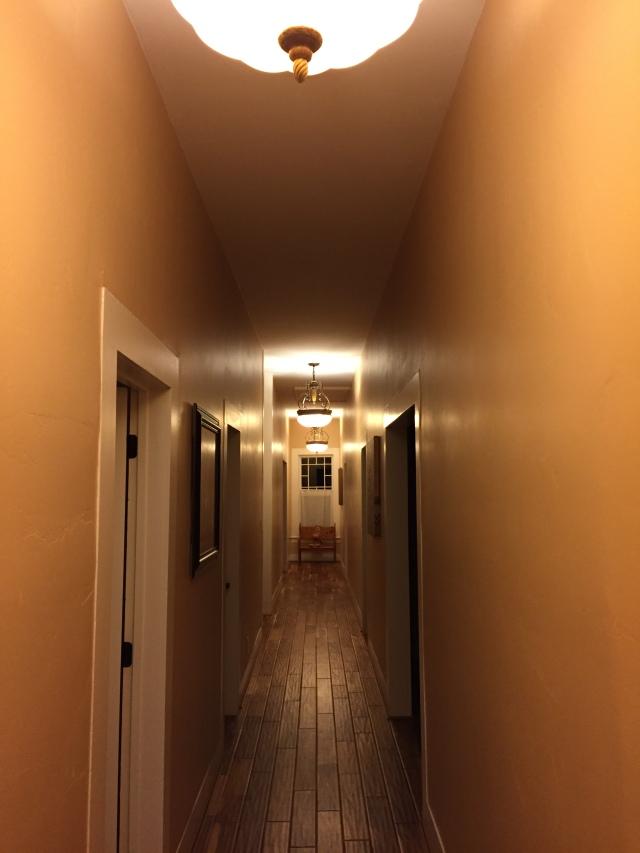 Our loooong hallway