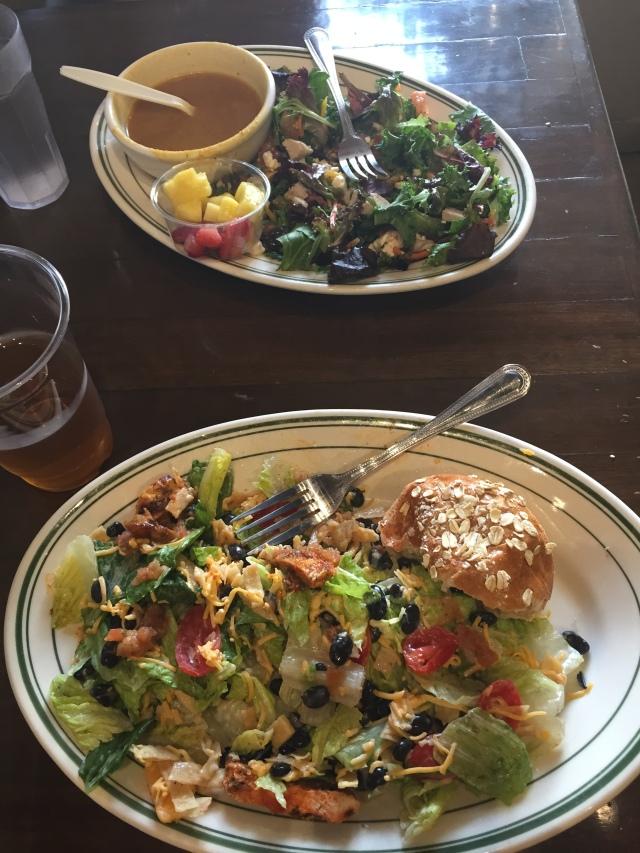 Soup & Salad at Silvergreens in Santa Barbara