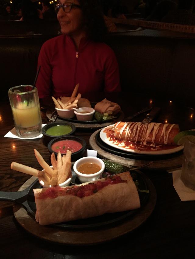 California Burritos at La Puerta