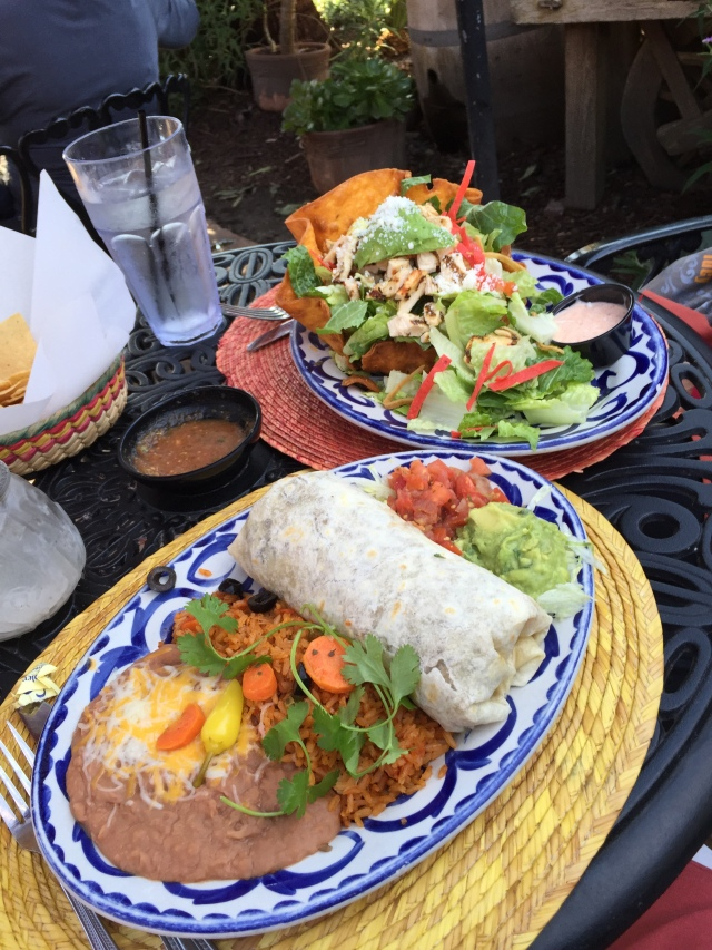 Lunch at Fiesta De Reyes in Old Town.  Not hard to find good Mexican food in this town.