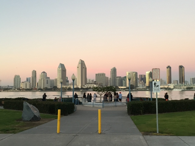 Downtown SD from Coronado Ferry Landing