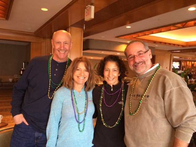 Bonnie and Peter Landini met us in New Orleans and San Diego