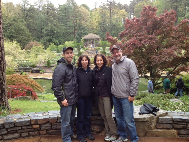 Cousin Amy Ginsburg and hubby Andy Maynard  took us into their home in Durham NC