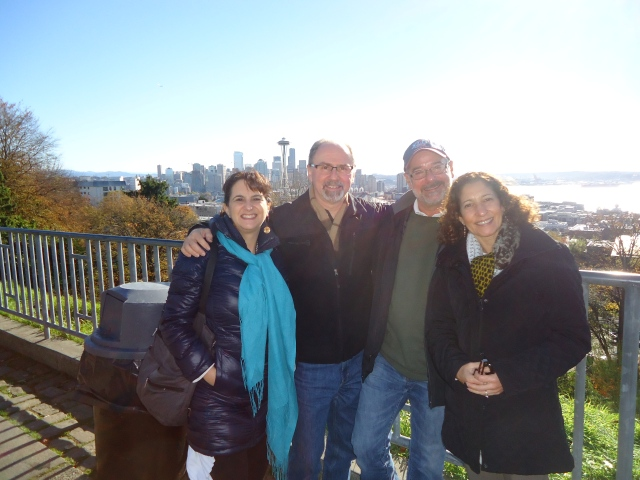Chuck and Rachel Rosenberg met us in Seattle