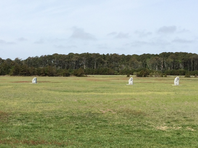 Field in Kitty Hawk where Orville Wright first took flight