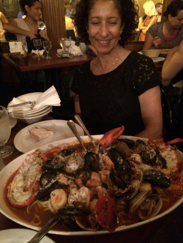 Zuppa di Pesce (for 2) at Giacomo's in the North End