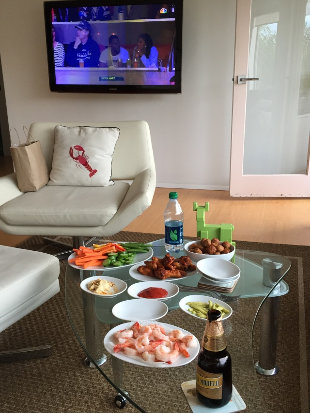 Our Superbowl spread