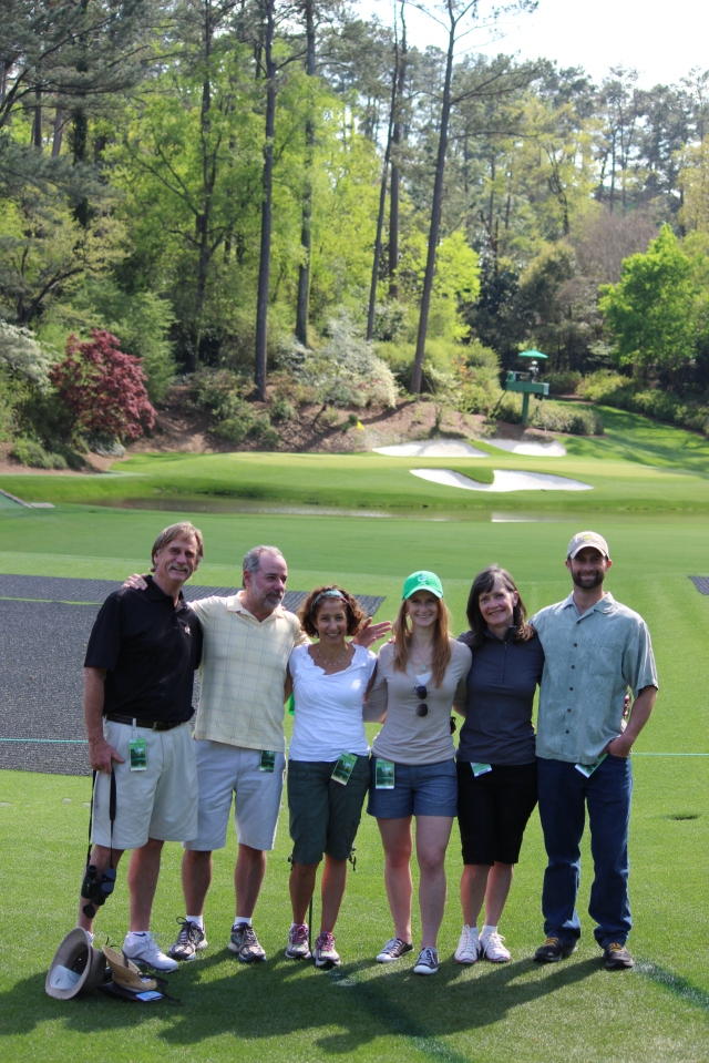 The Jeffries not only housed us for night in Augusta GA, they gave us tickets to the opening round of the Masters!  One of our very best days....check that one off the top of our bucket list!