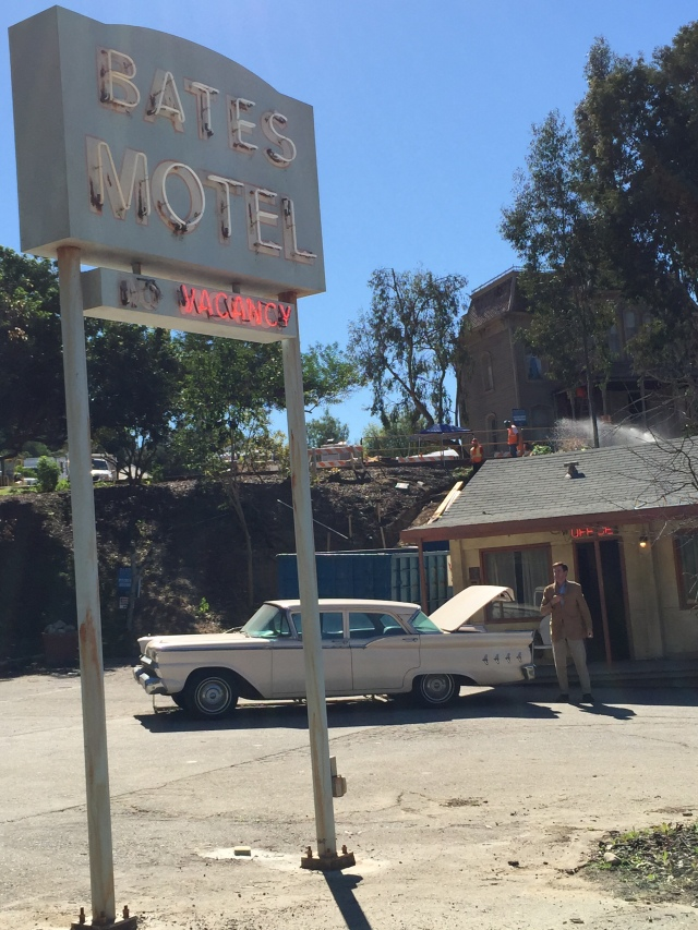 Bates Motel from the movie Psycho (Norman Bates included)