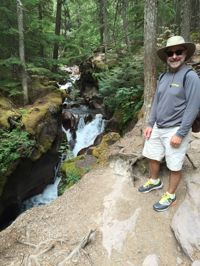 Avalanche Creek.....and my new hat
