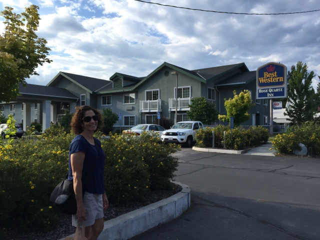 First night, the Best Western in Chester CA