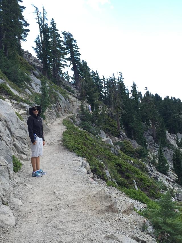 Trail to Bumpass Hell