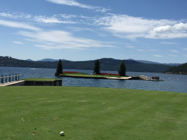The famous 14th hole