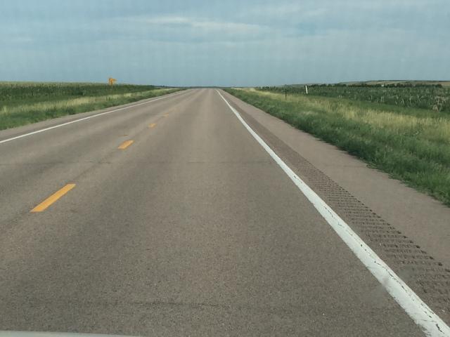 Our drive through Nebraska to Omaha