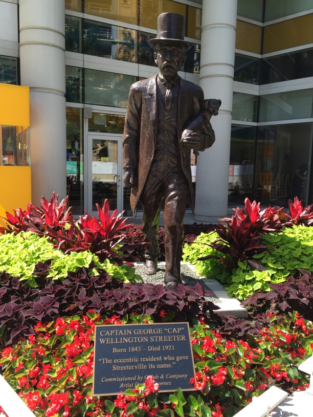 """Captain George Streeter """"The eccentric resident who gave Streeterville its name"""""""