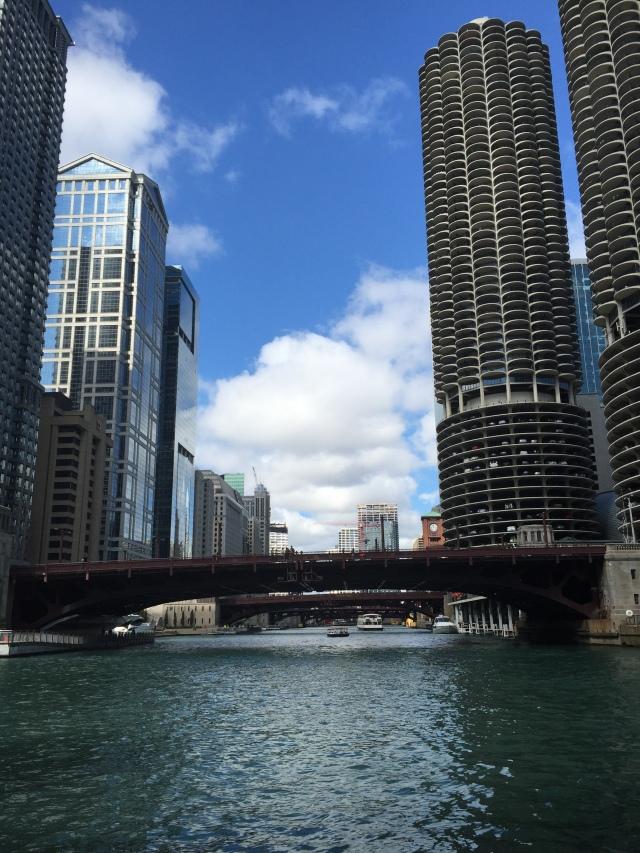 Chicago River and Marina City