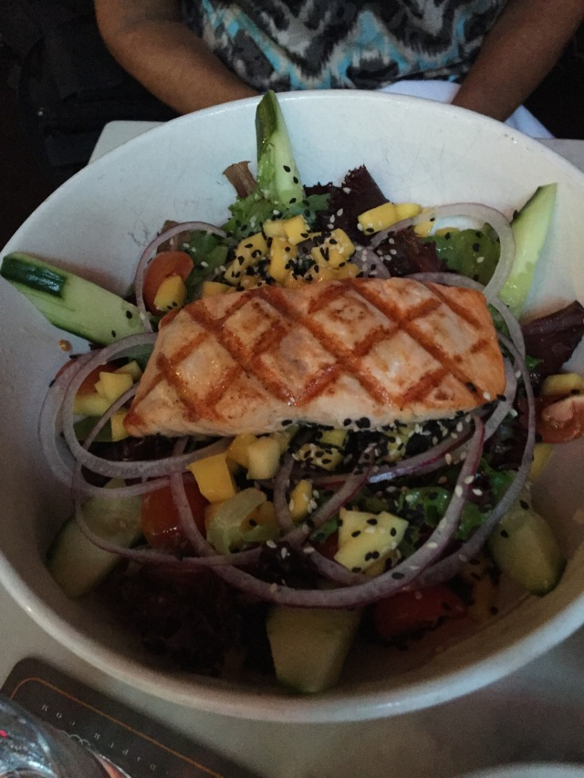 Salmon Salad at D4