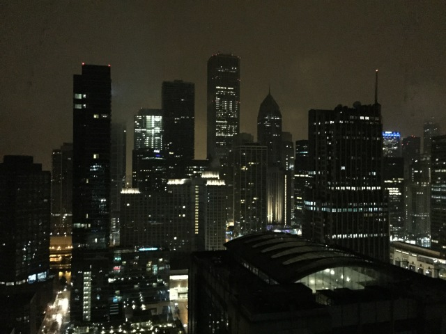 Night view from our condo