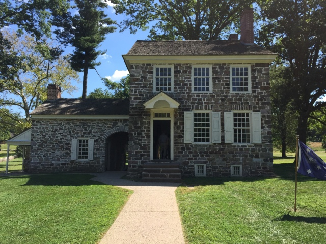 Original house that Washington used as residence and headquarters