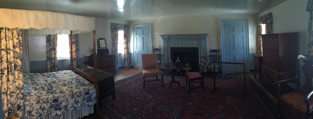 The bedroom George used when visiting mom