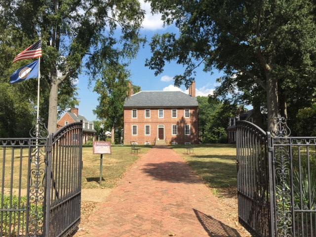 Daughter Betty's home, Kenmore Plantation